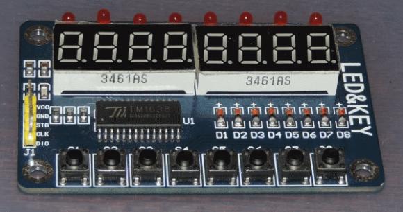 TM1638 module
