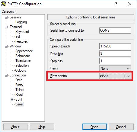 puttyflowcontrol
